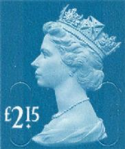 £2.15 Discount GB Postage Stamp (mixed designs) 20% to 25% off